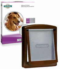 Staywell Petsafe 755 Marrone Medio Cane Flap PET PORTA BEST SELLER MARRONE PORTA PER CANI