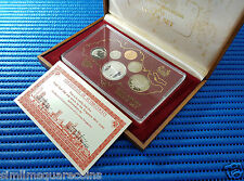 1982 Singapore Proof Coin Set Uncirculated ($1 Stylised Lion Silver Proof Coin)