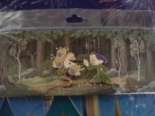 Disney Pin WDI 2013 Seven Dwarfs NFCF Dopey and Sneezy with Popcorn LE200