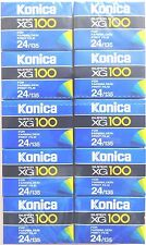 10 x KONICA SUPER XG 100 35mm COLOUR PRINT FILM EXPIRED 1995 LOMOGRAPHY FILM