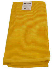 Now Designs Lemon Yellow Single 100% Cotton Ripple Tea Towel Dish Drying Cloth