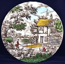 "Staffordshire England Collectors Decorative Plate ""The Hunter"" by Franciscan"