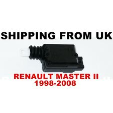 CENTRAL LOCKING MOTOR DOOR LOCK ACTUATOR for RENAULT MASTER MK2 II 1998-2008