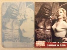BRITISH HORROR COLLECTION: PRINTING PLATE: CARD PR11 - KONGA