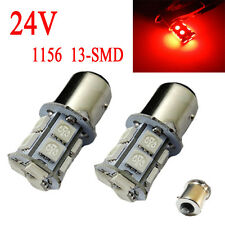 4X Red13 SMD 1156 BA15S 1259 P21W 1259 1141 1651 LED Tail signal Light bulb 24V