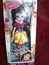 MOXIE GIRLZ DOLL MERIN SNOW WHITE SHE IS BEAUTIFUL MINT NRFB HIGHLY DETAILED