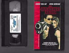 [o_o] VHS - THE REPLACEMENT KILLERS - 1998 - CHOW YUN-FAT - MIRA SORVINO - L1