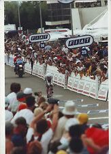 CYCLISME COUREUR CONTRE LA MONTRE TOUR DE FRANCE * PHOTO 30 X 20 CM QUALITE PRO