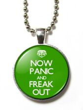 Magneclix magnetic pendant-Now Panic and Freak Out - Keep Calm