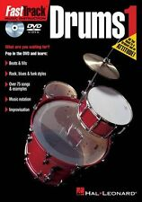 Fast Track Drums Learn to Play Drums Beginner Lesson Music DVD 1 German Edition