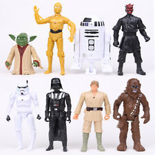 8 PZS Set Star Wars Yoda Darth Maul Vader Soldado imperial R2-D2