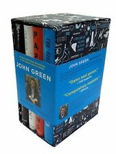 John Green Hardcover Book Box Set 4 Books Fault In Our Stars Looking For Alaska