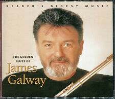 THE GOLDEN FLUTE OF JAMES GALWAY - 3 CD BOX SET - ANNIE'S SONG & MORE