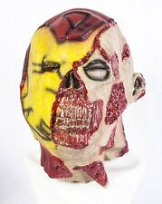 Completo Cabeza Zombie Iron Man Máscara De Latex De Lujo Disfraces Halloween Muertos Vivientes