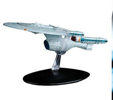 #46 Star Trek Enterprise-C  Die Cast Metal Ship-UK/Eaglemoss w Mag-FREE S&H