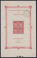 """FRANCE BLOC FEUILLET 1 """" EXPO. PHILATELIQUE PARIS 1925"""" OBLITERE  A VOIR K533H"""