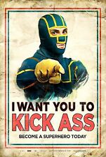 POSTER KICK ASS 2 CHLOE GRACE MORETZ HIT GIRL STARS AND STRIPES MOTHERFUCKER #5