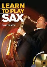 Learn to Play Sax, Weston, Ollie, Good Book