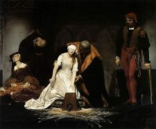 Art oil painting Paul Delaroche - The Execution of Lady Jane Grey canvas 36""