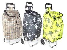 """34"""" Portable Floldable Heavy Duty Wheel Handle Carry Shopping Grocery Travel Bag"""