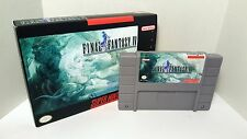 Final Fantasy IV 4 - English SNES Translation NTSC - FF Role Playing RPG