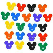 Dress It Up Disney Sew Thru Mickey Novelty Craft Buttons & Embellishments