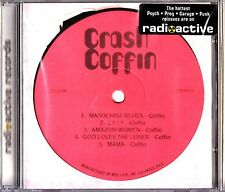 Crash Coffin- Self Titled 1974 Private Album CD NEW (Psych) lp reissue on CD