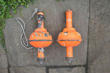 vintage man overboard old copper life beacon floats life buoys float - FREE POST