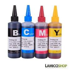 Brother refill ink for LC75 MFC-J280W MFC-J425W MFC-J430w MFC-J435W 4 x 100ml