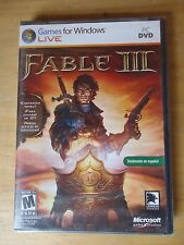 FABLE III brand new & sealed Totally in spanish Totalmente en español. nuevo PC