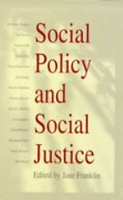 Social Policy and Social Justice: The IPPR Reader