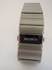 Sony swr510 METAL Wrist Strap-Genuine Stainless Steel-for SmartWatch 3 swr50