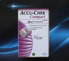 Compact ACCU-CHEK 51 pezzo di sensori-test strisce * RIVENDITORE Roche ^ NUOVO *