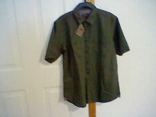 BRAND NEW MEN'S SIZE SMALL NORTHWEST TERRITORY BUTTON FRONT SHIRT