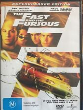 THE FAST AND THE FURIOUS - (SUPERCHARGED EDITION) DVD R2 & R4 - Free Post