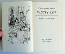 VANITY FAIR Folio Society 1963 William Makepeace Thackeray illust VGC NO BOX
