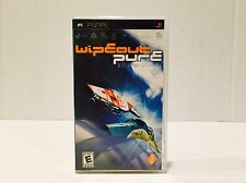 WIPEOUT PURE GAME FOR PLAYSTATION PORTABLE PSP COMPLETE!