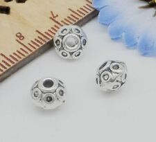 Free Ship 30Pcs Tibetan Silver Spacer Beads For Jewelry Making 7x5.5mm