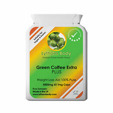 Green Coffee Bean Extract PURE 5000 mg per 60 x Capsule- DIET WEIGHT LOSS DIET