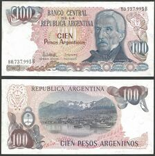 Argentina 100 PESOS Letter B ND (1983-85) P 315 VF