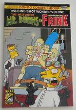 Simpsons SDCC 2013 One-Shot Wonder Exclusive Mr. Burns & Frink +  3D Glasses