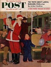 1955 Saturday Evening Post December 10-Apple Valley CA;Perry Mason;Louis L'Amour