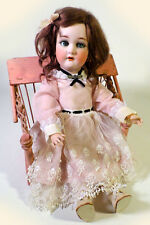 "Antique 1907 Otto Dressel 20"" Jutta Doll Mold 1349 Bisque Socket Jointed Compo"