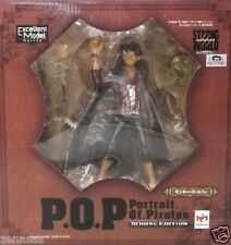 Used Megahouse POP P.O.P ONE PIECE Strong Monkey D Luffy STRONG EDITION PAINTED