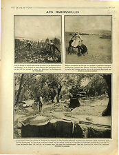 Bataille des Dardanelles Moudros island of Lemnos North Aegean Greece 1916 WWI