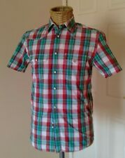 Levi's Western check shirt. Size S - Pearl popper fastening Skinhead Mod Oi!