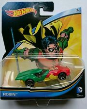 Hot Wheels ROBIN BATMAN DC COMICS Batmobile SuperHeroes - Edit.Exclusive Limit