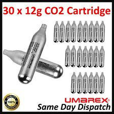 30 x Umarex 12g Capsules CO2 Powerlet Cartridge Gas Air Riffle Pistol Gun C02 HQ