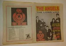The Angels - The Long Line Magazine - 1992  RARE