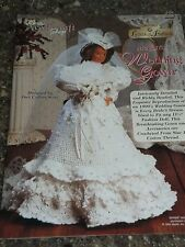 Needlecraft Shop Wedding Dress Barbie Doll Crochet Pattern Book